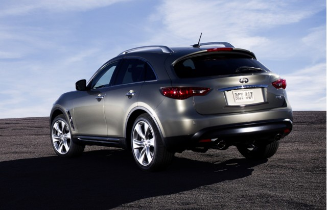 Infiniti Suv Fx. The new Infiniti FX35 features